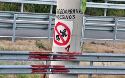 Otra legislatura sin solucionar 'las guillotinas' de los guardarrailes