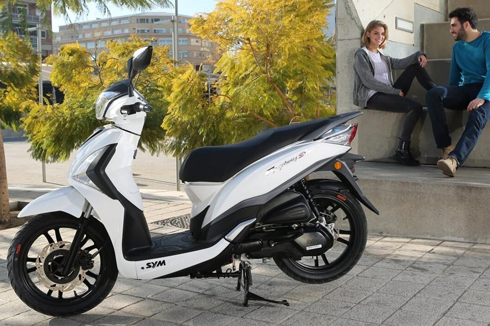 Scooter de Rueda Alta