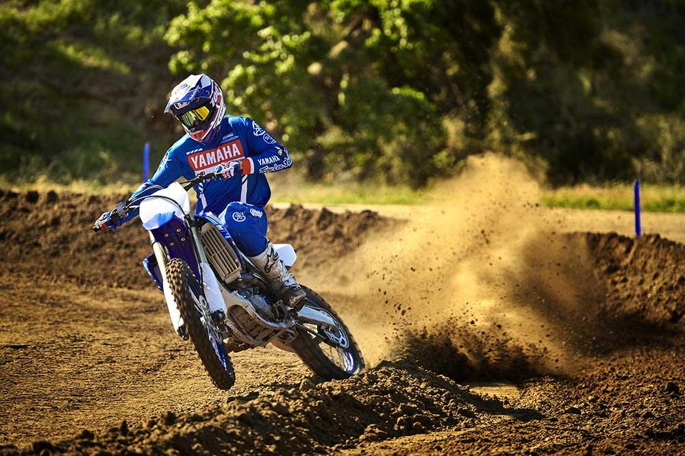 Con una moto de motocross solo podremos rodar en circuito