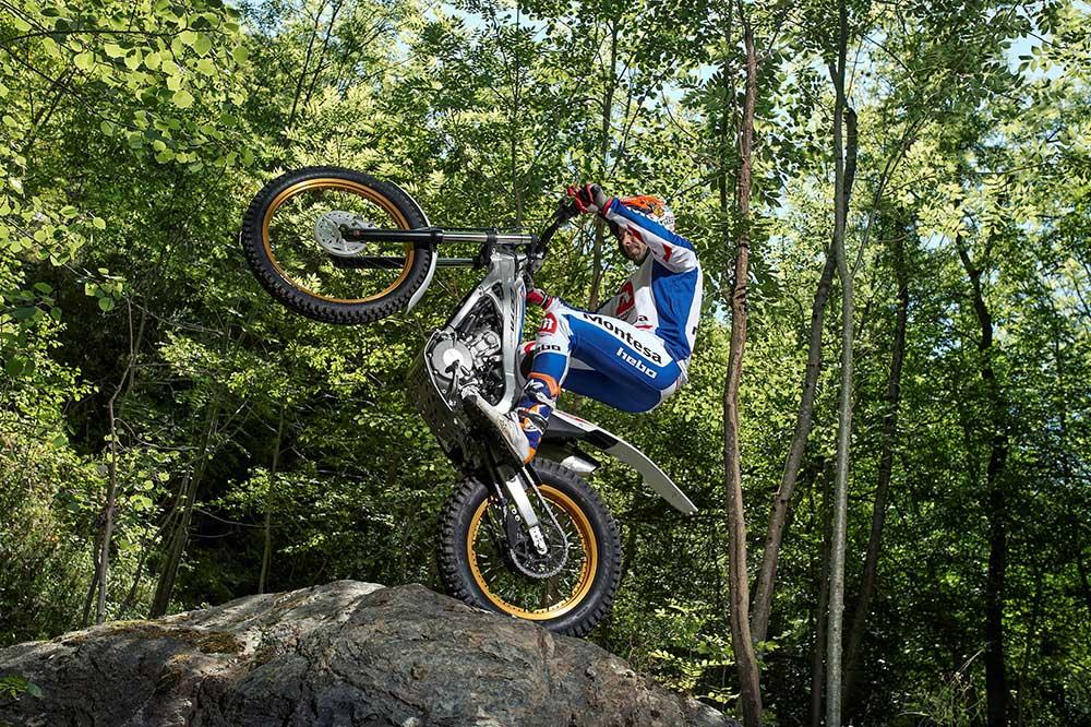 Las motos de trial son ágiles y ligeras, perfectas para iniciarse en el off road