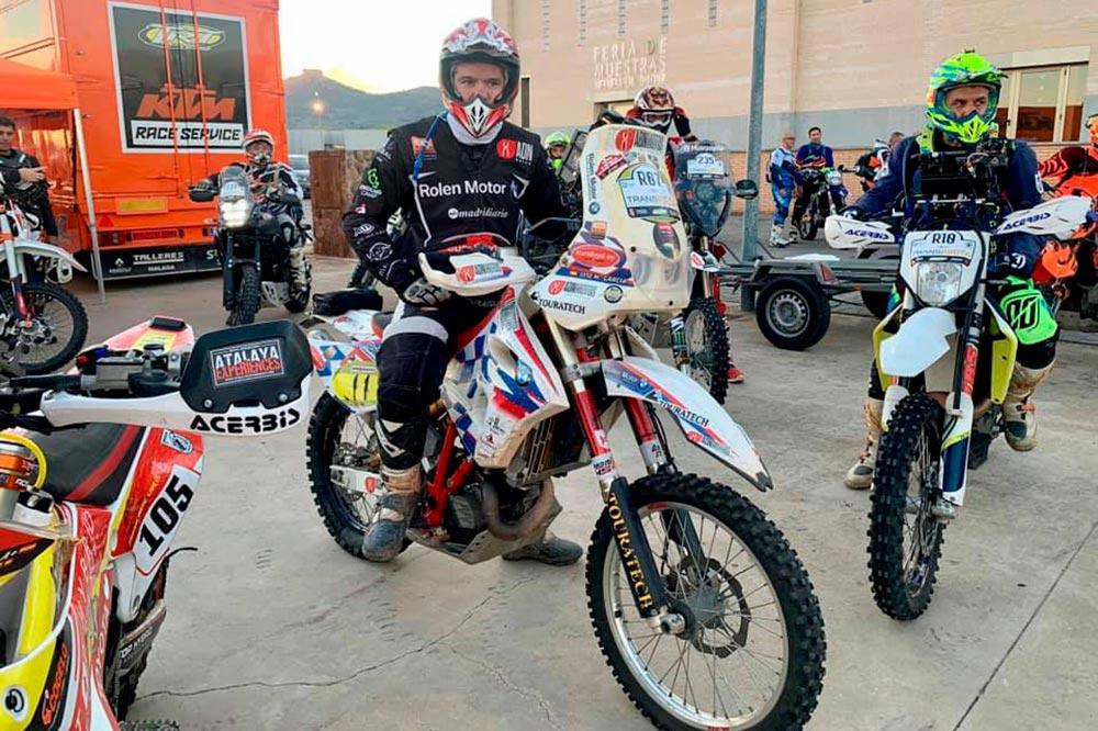 José María García prepara el Dakar 2022 a bordo de una BMW